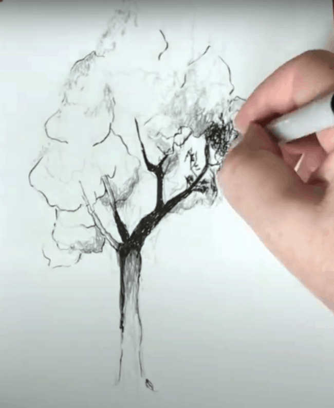 Add Fine Detail to Your Drawing with a Fine Brush Pen