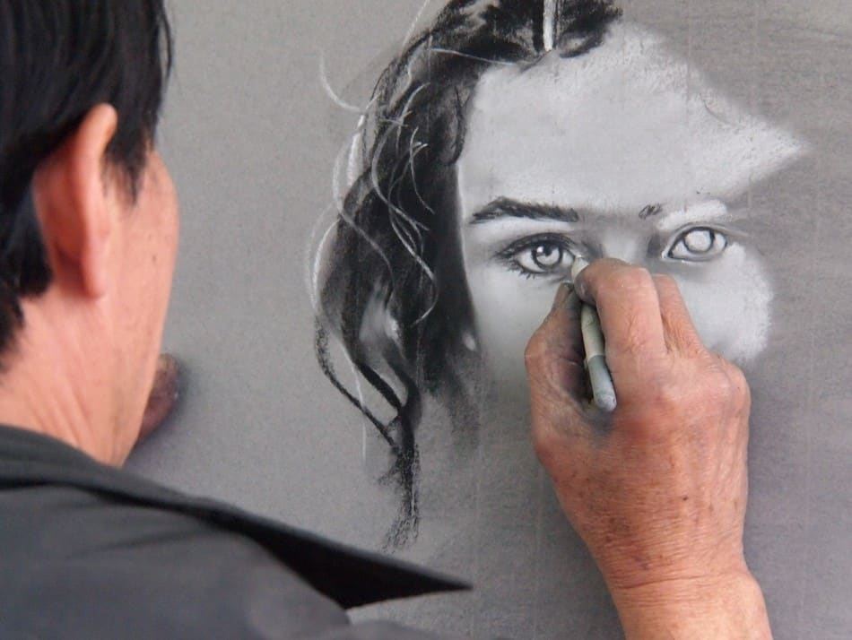 How to Draw a Face Using a Camera Lucida