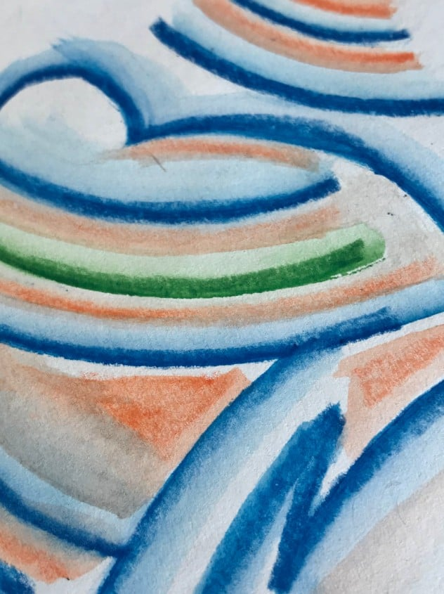 How to Mix and Blend Watercolor Pencils