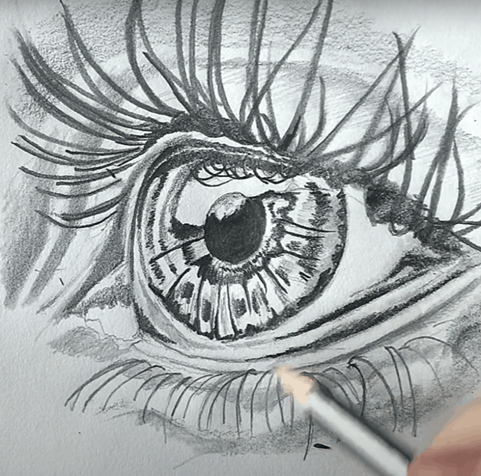 Different Ways to Draw the Eye