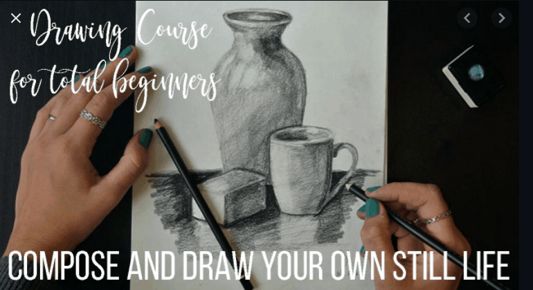 Drawing Course for Total Beginners
