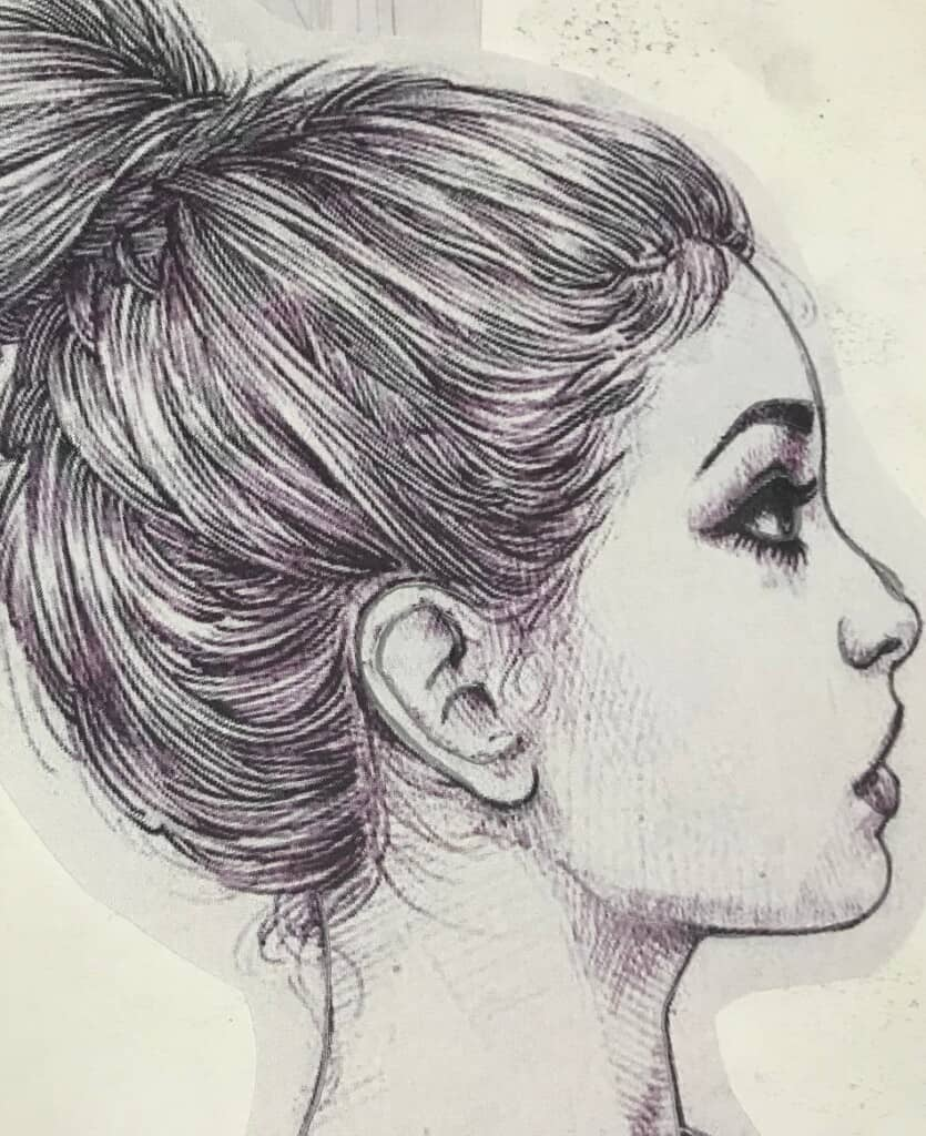 How to Draw the Mouth Open From the Side