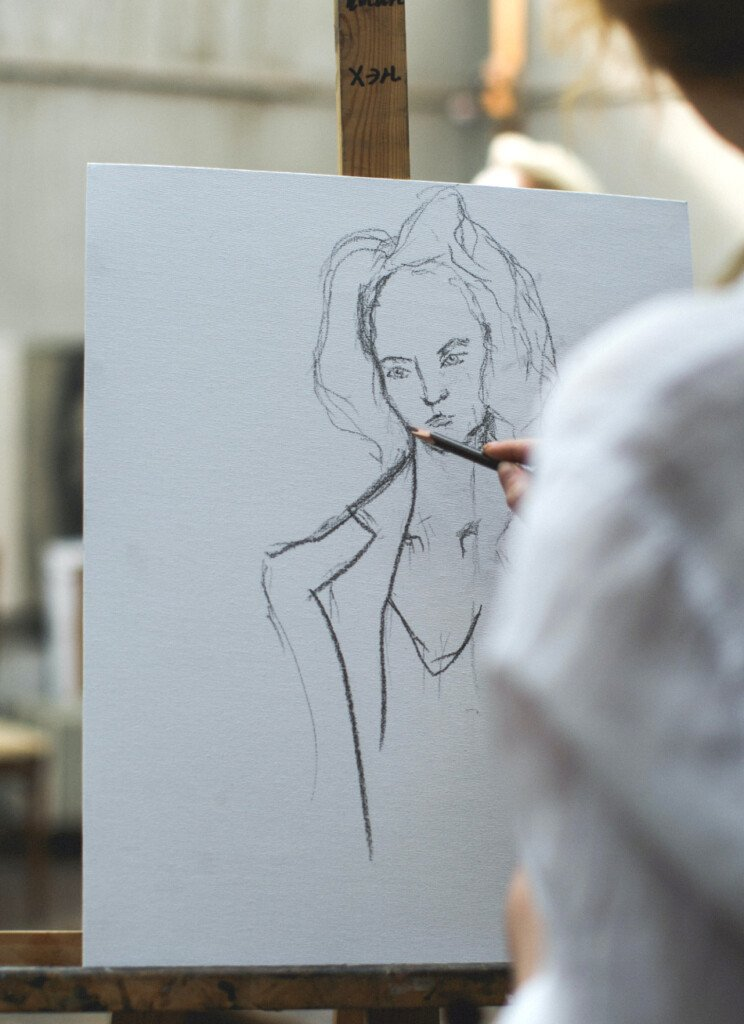 How to Fix a Graphite Drawing