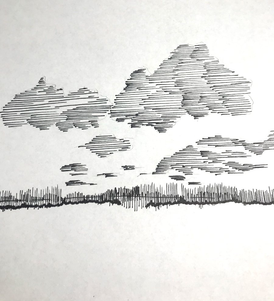Draw Clouds with Linear Marks