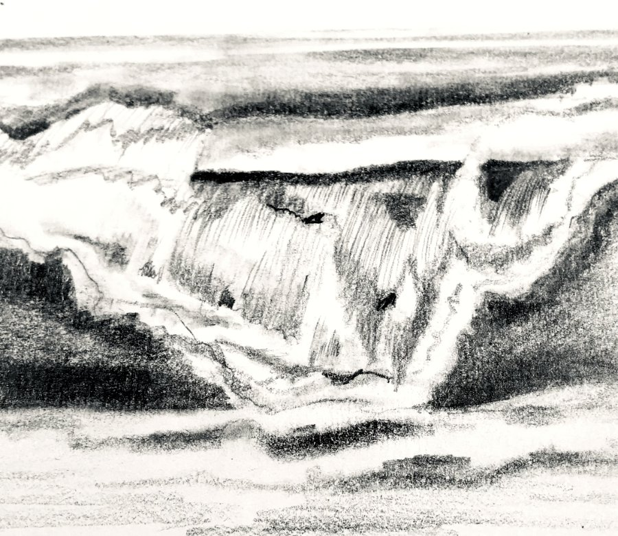 How to Draw Waves and Sea Foam