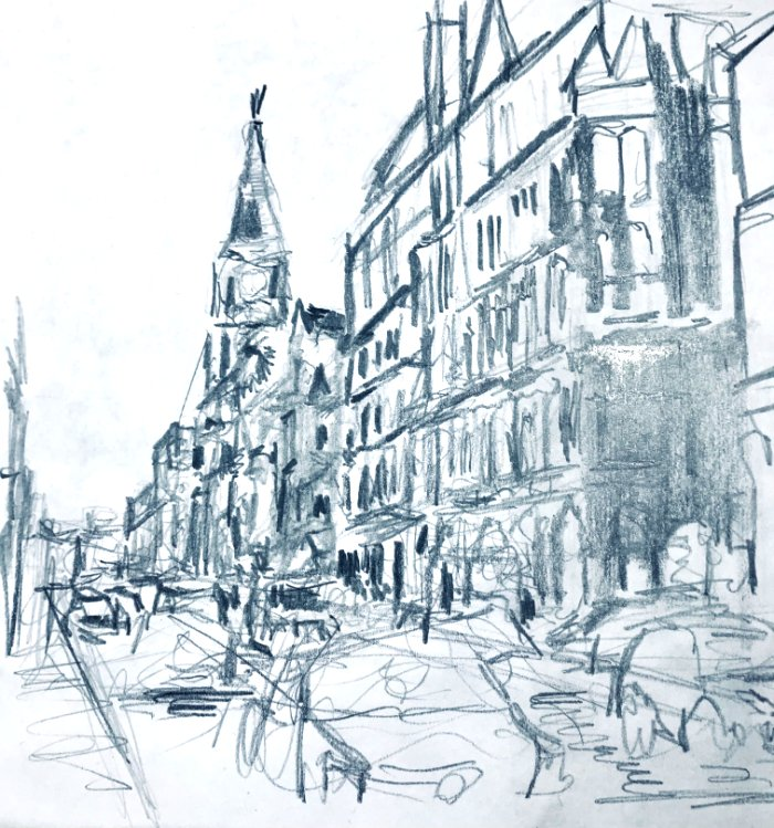 LOCATION SKETCHING IN THE CITY