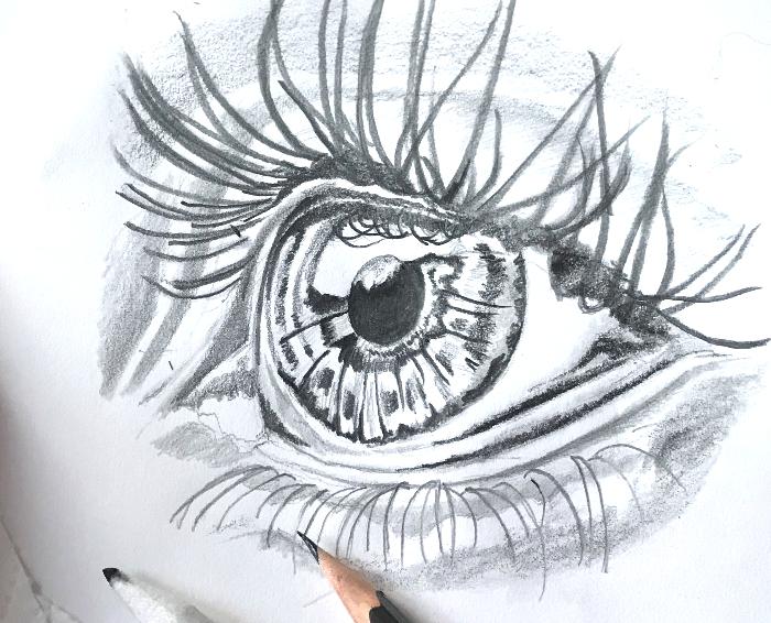 Eye Drawing Ideas