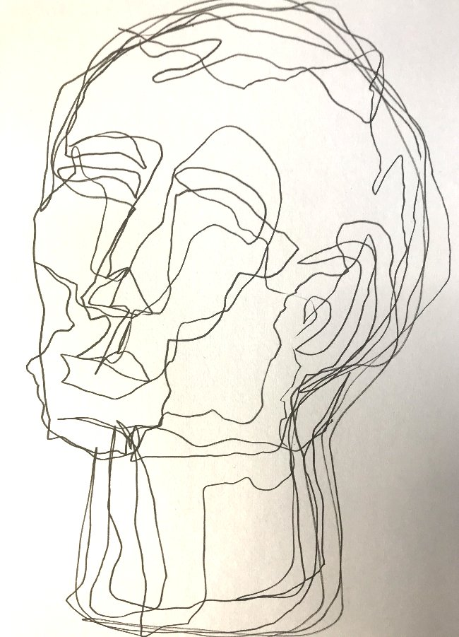 Simple Continuous Line Drawing